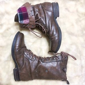 Madden Girl Combat Moto Boots 7.5